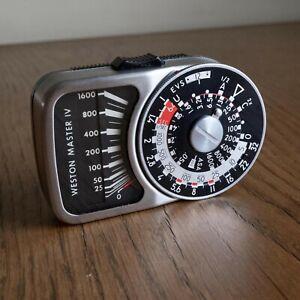 Weston Master IV lightmeter