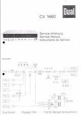 Dual Service Manual für CV 1460