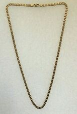 YELLOW GOLD CHAIN NECKLACE 375 9 carat ~51cm ~3mm width ~17g grams