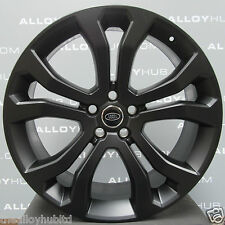 "GENUINE RANGE ROVER L494 STYLE 514 22""INCH SATIN BLACK SINGLE ALLOY WHEEL X1"