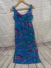 ! Vintage Baltman & Co Fifth Avenue New York Sleeveless Floral Dress Sz. 12