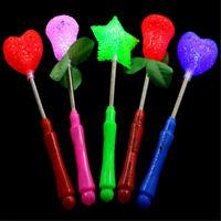 Star LED Toys Luxury Magic Star Wand Flashing Light Up Stick For X-mas Gift T NT