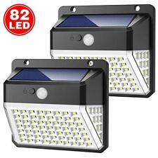 Lampe Mural Extérieur LED Solaire Applique Étanche Détecteur De Mouvement Jardin