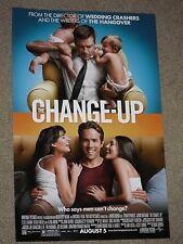 THE CHANGE-UP - Movie Poster - Flyer - 11x17 - RYAN REYNOLDS - JASON BATEMAN