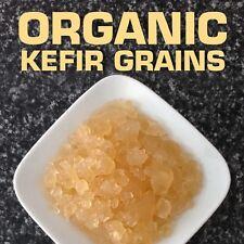 Premium Water Kefir Grains * fresh organic probiotic culture * 2 tablespoons