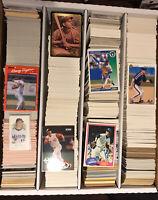 3,200 Count Box Of Baseball Cards FREE SHIPPING Box 4