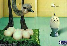 Publicité Advertising 2002 (2 pages) Lampe Berger