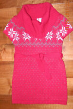 Girls Fair Isle Sweater dress-Size ( M /8) Holiday, Christmas