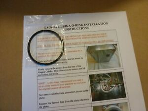 GAGGIA CUBIKA MAIN O RING GASKET SEAL FOR LEAKING BOILER - O-RING + INSTRUCTIONS