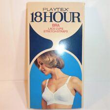 Rare ~ Playtex 18 Hour White Vintage Wirefree Pointy Bra 34B Style 20 Nwt Nos