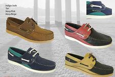 Ladies Seafarer Yachtsman Deck Shoes - FREE SHIPPING Lady Deck Shoes  BNIB
