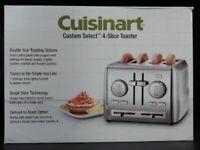 Cuisinart CPT-640 4-Slice Custom Select Metal Toaster