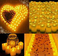 72PCS Flameless Votive Candles Battery Operated Flickering LED Tea Light