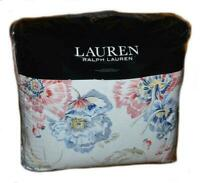 NEW! Ralph Lauren 3 Piece KING Size Comforter Sham Set ISADORA Floral