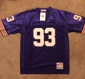 #93 John Randle Minnesota Vikings Stitched Large Mitchell & Ness jersey