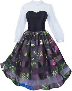 Disney Parks Authentic Briar Rose Aurora Womens Costume Dress Size M XXL