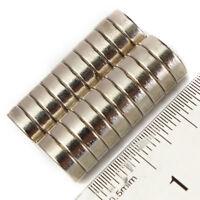 100x Neodym Scheiben Magnete Ø10 x 3 mm N45 Haftkraft NdFeB D10x3 mm rund