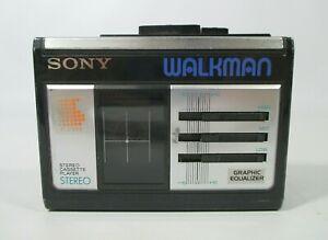 Sony Walkman WM-33 1987 Vintage Sony Walkman Portable Handheld Clip-on Stereo
