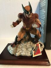 X-Men Wolverine 1989 Marvel Collection Yellow/Brown Costume Statue Vintage
