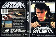 Running on Empty Region 1 DVD
