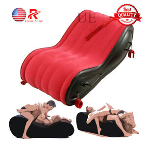 Modern Inflatable Air Sofa For Adult Love Chair Beach Fun Bed