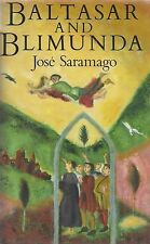 "JOSE SARAMAGO ""Baltasar and Blimunda"" SIGNED 1st Edition QUITE RARE Nobel Prize"