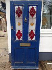 Glass/Cut Glass Edwardian Antique Doors