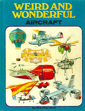 """COOK """"WEIRD AND WONDERFUL AIRCRAFT"""" 1975 1ST ED HC VG GREAT ILLUSTRATIONS!"""