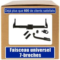 Renault Kangoo I 97-08 Attelage fixe+faisceau 7-broches uni.