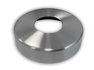 E25, E92 oder E93 - Rosette Edelstahl V2A Ø105x25mm/ Ø105x16mm