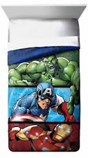 NEW MARVEL AVENGERS ASSEMBLE SUPERHERO TWIN COMFORTER CAPTAIN AMERICA IRON MAN