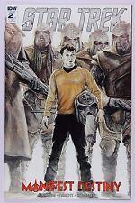 Star Trek Manifest Destiny 2 - 9.4 NM - J.K. Woodward Variant Cover RI 1 for 10