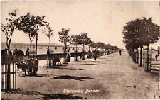 Dundee, The Esplanade, old b+w postcard, unposted