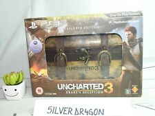 Uncharted 3 Drakes Deception Explorer Collectors Edition Chest Wooden Box only
