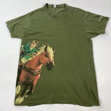 New listing The Legend Of Zelda Ocarina Of Time Nintendo 3DS Promo T-Shirt Men's Medium