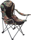 Ming's Mark 36030 Foldable Reclining Camp Chair - Black / Camo /