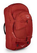 Osprey Farpoint 70 S / M Rucksack Reisetasche Wanderrucksack Tasche Jasper Red