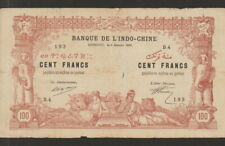 "French Somaliland""Djibouti"",100 Francs Banknote,2.1.1920,Net Very Fine Condition"