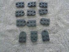 A05 2x LEGO tan plate trou de couplage plat 2x3 avec trou P//N 3176 nouveau