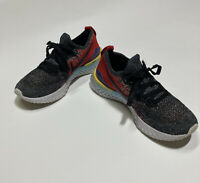 Nike Epic React Flyknit 2 GS Youth Size 4Y AQ3243 007 - Comfort Athletic Shoe