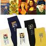 Art Painting Socks Novelty Artist Series Starry Night Men Women Famous Socks NEW