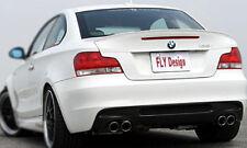 Spoiler BMW 1er E82 E88 Heckspoiler Heckflügel Spoilerlippe M-Paket Lippe Wing