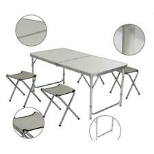 120 X 60 X 70 4Ft Portable Multipurpose Folding Catering Camping Table White