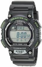 Casio STL-S100H-1AV Black & Green Tough Solar Mens Digital Sports Watch