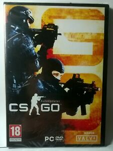 Counter-Strike: Global Offensive PC DVD ROM NEW and SEALED RARE Vintage DVD Case