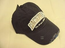 Top Ten Accessories European Embroidered Distressed Baseball Hat Cap OSFA NWT