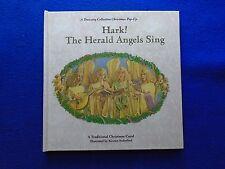 ~~ HARK! THE HERALD ANGELS SING HARDCOVER POP-UP BOOK ~ 1993 ~~