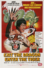 EXIT THE DRAGON, ENTER THE TIGER Movie POSTER 27x40 Bruce Li Yi Chang Ma Chi