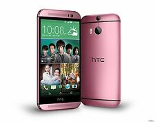 SIM FREE HTC ONE M8 PINK FACTORY UNLOCKED SMARTPHONE 32GB PHONE ONLY