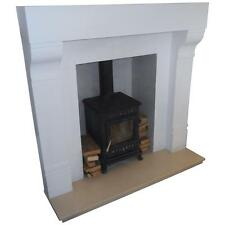 F01 Large Ashbourne Fire Surround in Plaster - BIRMINGHAM COLLECTION ONLY